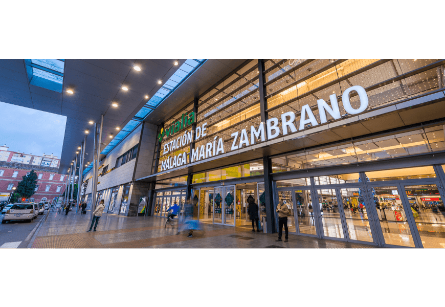 MARÍA ZAMBRANO TRAIN STATION | ESPACAR