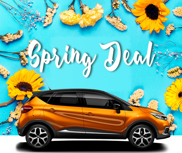 Promotion de Printemps chez Espacar Rent a Car