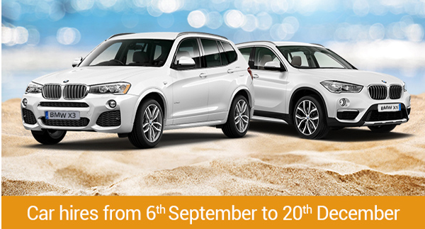 September Best Prices with Espacar Rent a Car