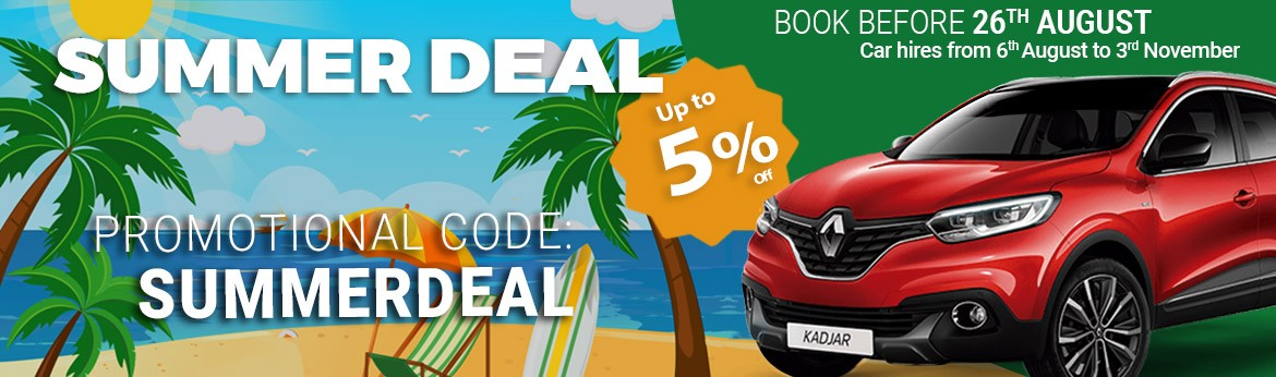 Espacar Summer Deal