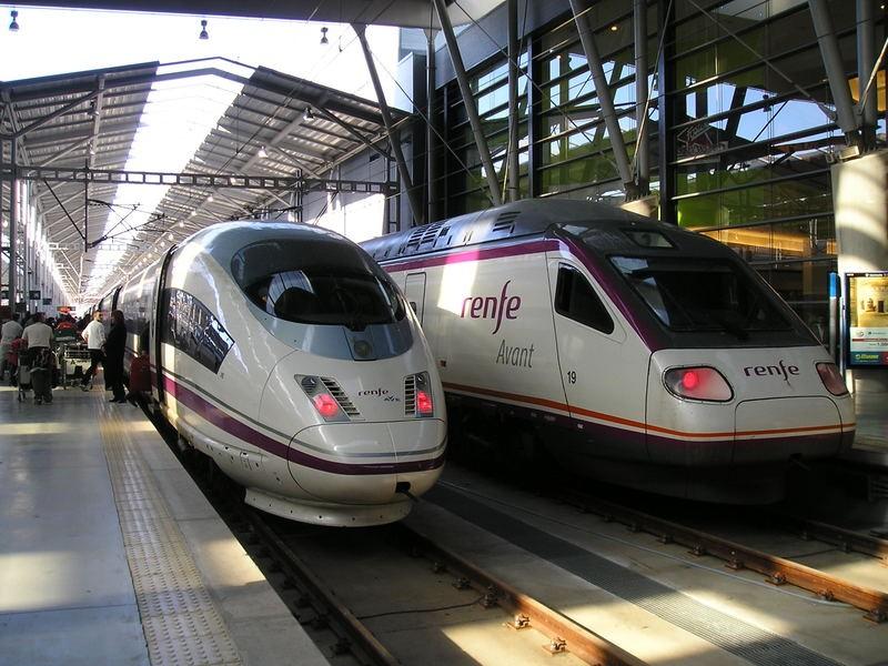 Trenes desde Málaga