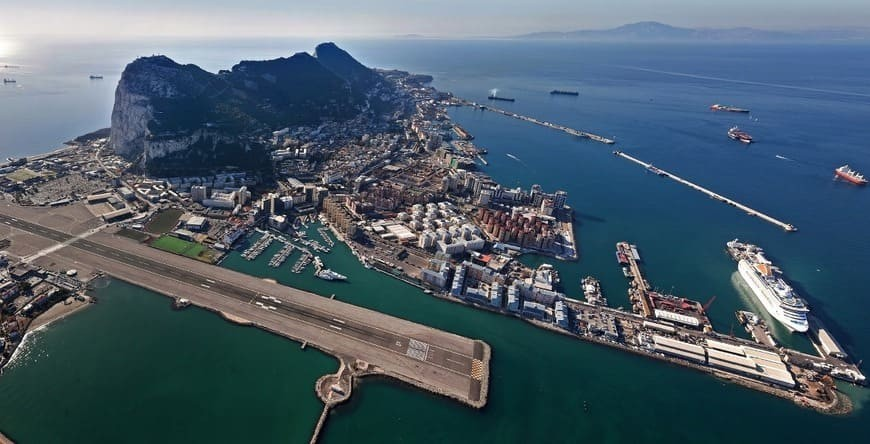 The Gibraltar Airport Tunnel